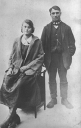 Mr and Mrs Arthur Loveridge, courtesy of the Parker family