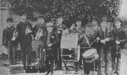 Mendlesham Green Band, courtesy of Gordon Syrett